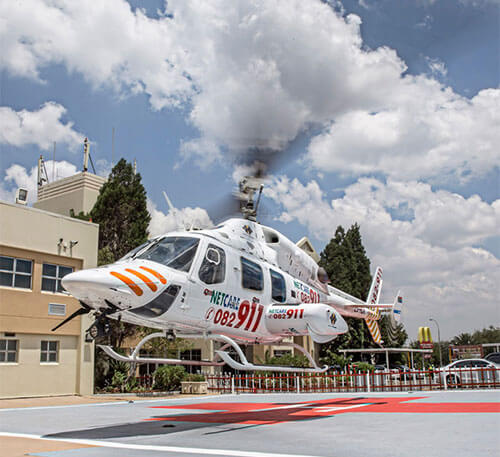 Title | Netcare 911 HEMS air ambulances celebrate one year