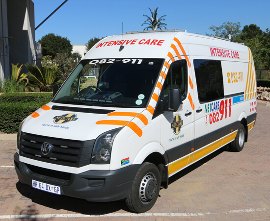 Title | Intensive care ambulance designed especially for