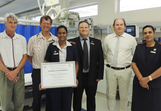 Title | The heart of Netcare St Anne's Hospital beats strong