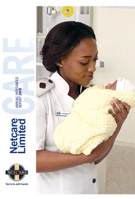 Netcare annual report cover page